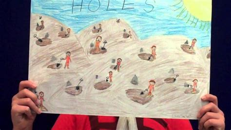 book report on holes book review holes by louis sachar