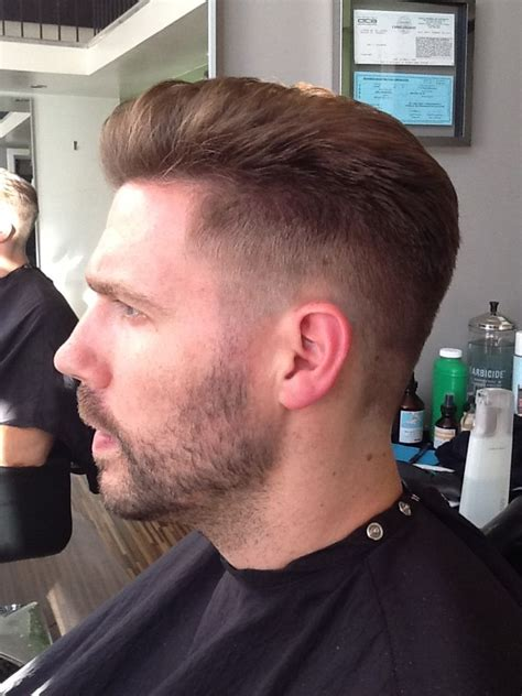 scissor cut short hair style mens cut clipper fade scissor work hair pinterest