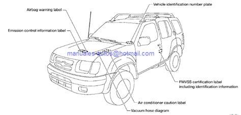 nissan xterra 2001 service manual auto repair
