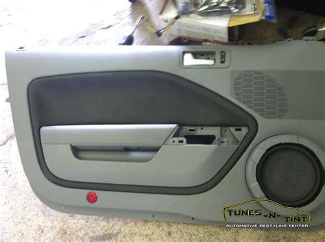 Ford Mustang Sepaket mustang door speakers