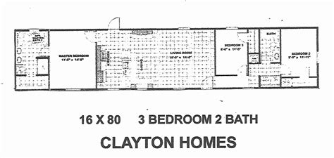 16 x 80 mobile home floor plans best of single wide mobile homes floor plans images home