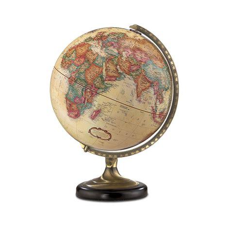 Home Goods Home Decor by Replogle Globe 31516 Sierra Antique Globe Off White Atg