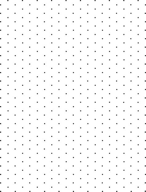 printable square dotted paper isometric dot paper free download