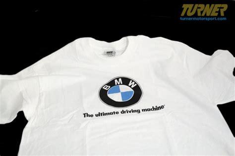 T Shirt Logo Bmw 8222146928x genuine bmw white t shirt with large roundel