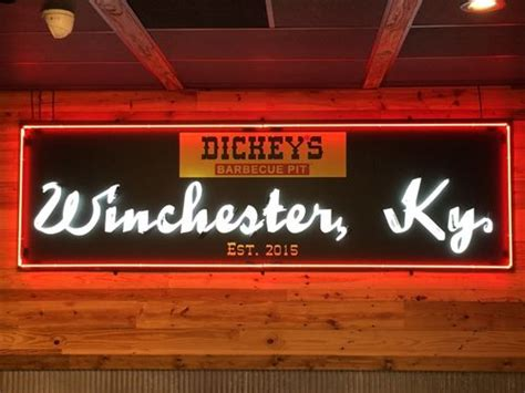 Dickies Gift Card - veteran franchisee opens dickey s barbecue pit in winchester ky restaurant magazine
