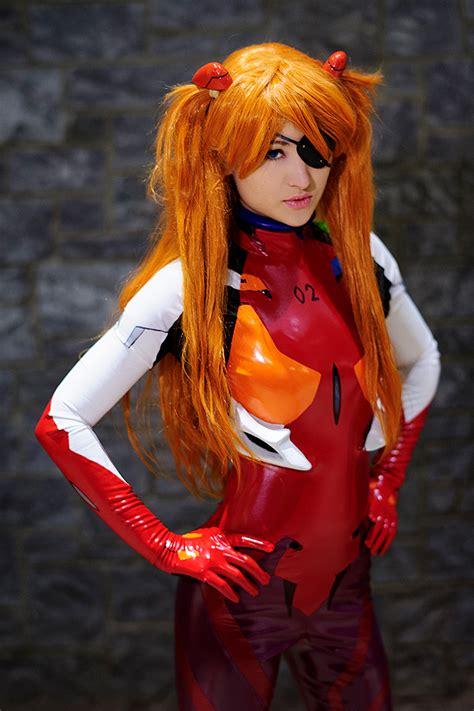 asuka langley plug suit cosplay plug suit asuka neon genesis evangelion by mostflogged