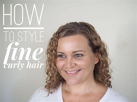 Hair Dryer For Thin Curly Hair how to style curly hair hair