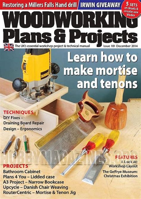 woodworking plans and projects magazine woodworking plans projects december 2014 187 hobby