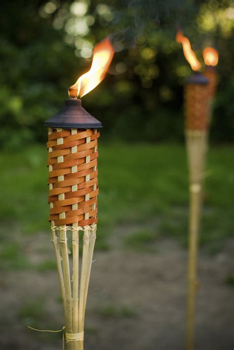 15 Backyard Tiki Torches Tiki Torches Citronella Oil Outdoor Tiki Lights
