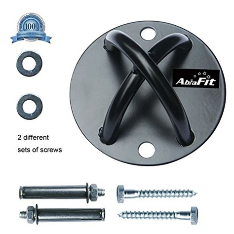abrafit wall ceiling mount for suspension straps crossfit