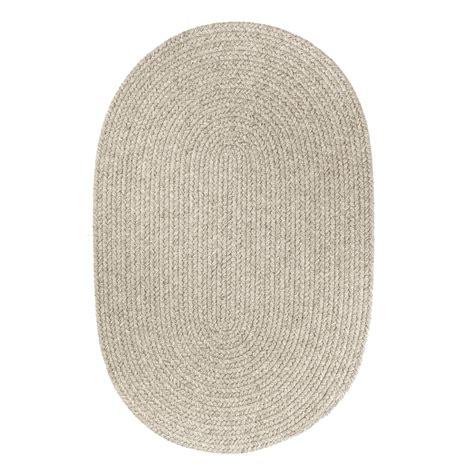 oval rugs 7x9 rhody rug solid lt gray wool 7x9 oval ebay