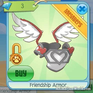 Jam Friendship animal jam friendship armor 3