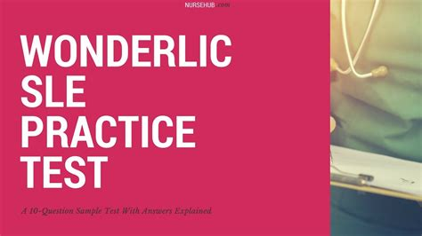 sle questions wonderlic sle practice questions
