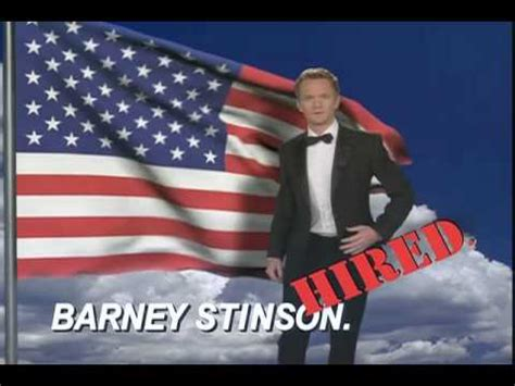 Barney Stinson Resume by Barney Stinson Cv Hd