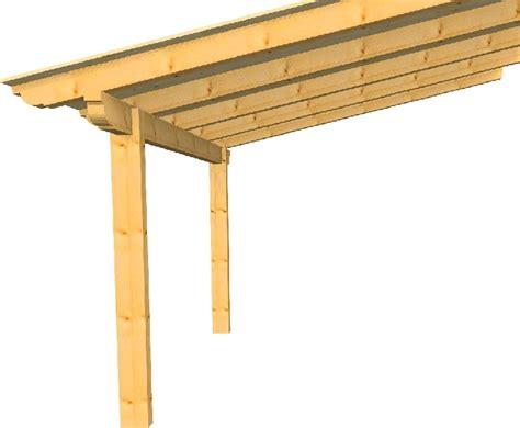 disegno tettoia in legno tettoia 4x4 187 edil legno s r l