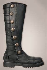 mens high boots leather leather knee high boots for