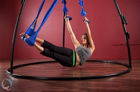 aerial yoga swing suspension training for lower back pain yoga swings