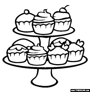 coloring pages of cute cupcakes cute birthday cupcake coloring pages free printable