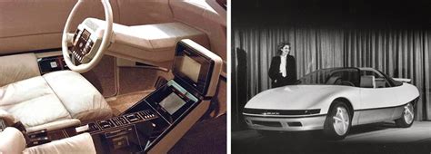 futuristic concept cars from the 70s and 80s visions