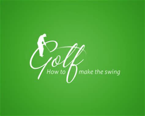 golf swing logo logo watch how to make the swing golg logo