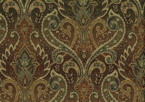brown paisley upholstery fabric designer fabric brown aqua gold beige paisley upholstery