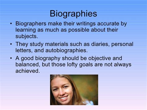 biography and autobiography biographies vs autobiographies