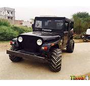 Mahindra Thar Fully Modified For Hummer Alloy Pic