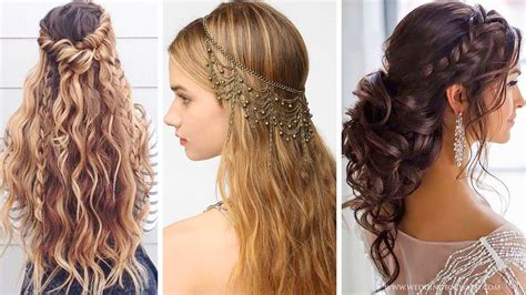 hairstyle for party for rebonded hair 20 beautiful hairstyles for party the most beautiful