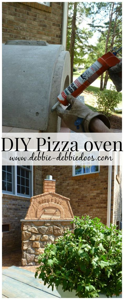 diy outdoor pizza oven debbiedoo s pizza and