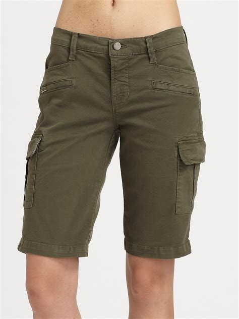 Cargo Us Army Levi S Uniqlo Calvin Klein Alpha Adidas Jacket j brand cargo shorts in khaki vintage lyst