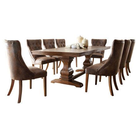 homelegance louise 9 expandable trestle 166 best diningroom tables images on dining room dining rooms and dining sets