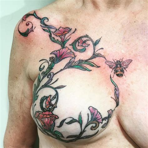 tattoo pictures sites eight inspiring mastectomy tattoos breast cancer care