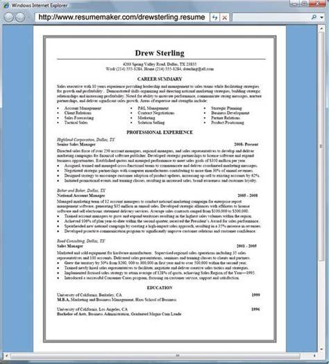 Resume Maker Professional by Resumemaker Professional Software Informer Screenshots