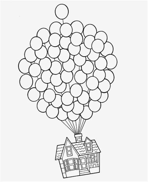 House From Up Outline by It S A Rowberry Easy Button