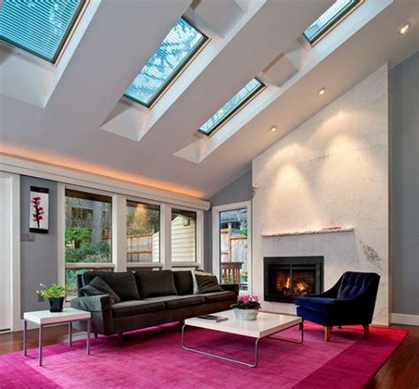 The Skylight Room by 30 Inspirational Ideas For Living Rooms With Skylights