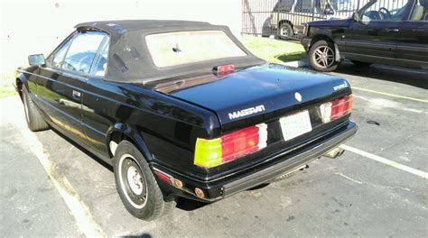 1987 Maserati Biturbo For Sale by 1987 Maserati Biturbo Spyder Zagato Convertible For Sale