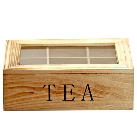 Storage Box Organizer Gray 1 tea storage box chest organizer shabby wood decoration