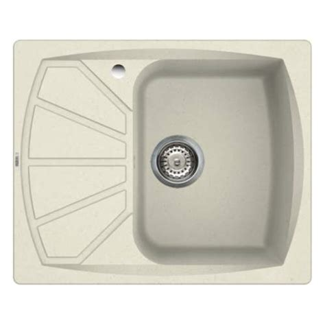 cream kitchen sinks reginox living 125 compact cream granite sink sinks taps com