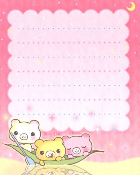 Memopad Nota Mini Nota Burger kawaii letter paper milkuma memo pads papel esquelas y nota