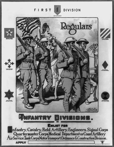 File:First division, regulars - Infantry divisions