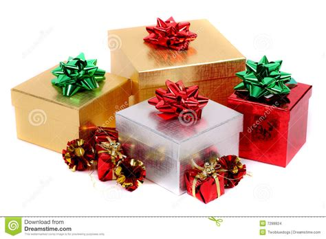 christmas gifts stock images image 7288824
