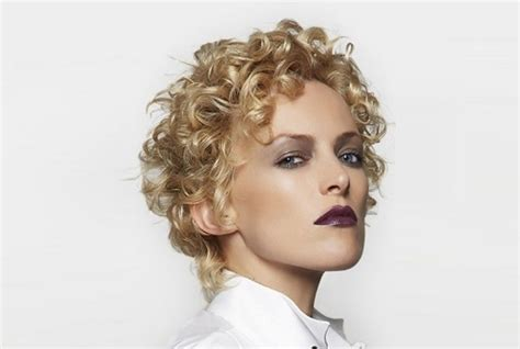 perm top of hair only best perms for short hair stylish short permed