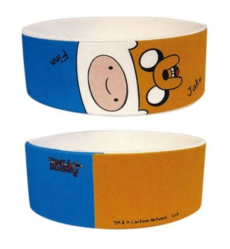 511 Time Rubber adventure time jake and finn rubber wristband