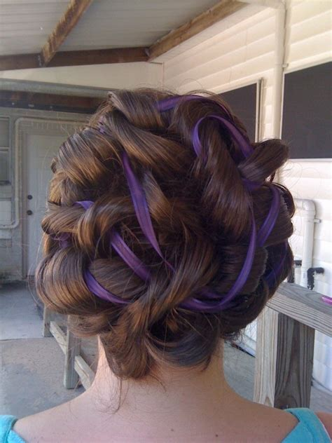 Wedding Hair With Ribbon by Wedding Hair With Ribbons Popular Haircuts Styling