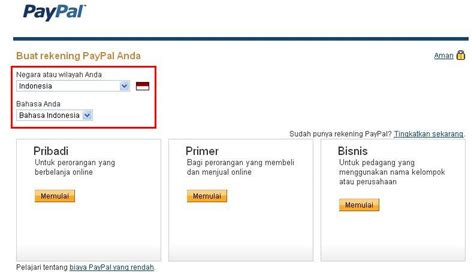 membuat paypal account papan informasi membuat account paypal