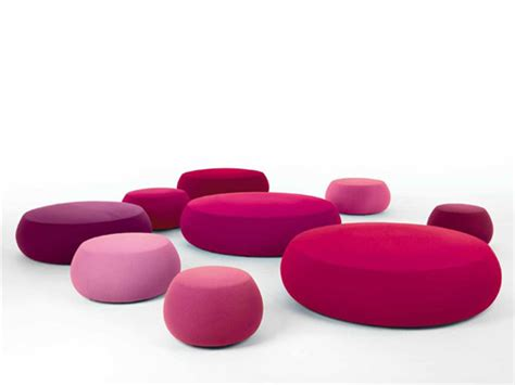 The Pix Poufs Collection by Arper