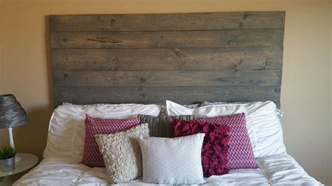 Wood Plank Headboard Diy King Headboard Ideas Simple To Make