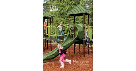Landscape Structures Playsense Playsense 174 Designs Affordable Playgrounds For Ages 2 12