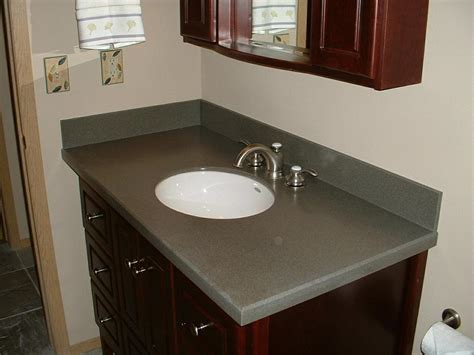 corian bathroom countertop the ridge corian guest bath from custom counter tops inc
