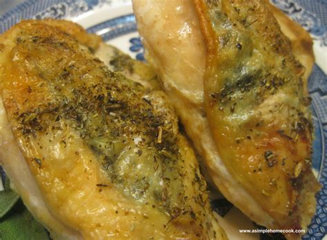 oven baked chicken breast low temperature